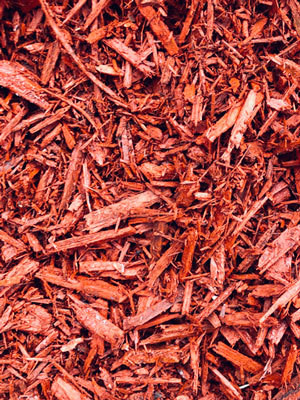 Pallet Red Mulch - BY THE YARD