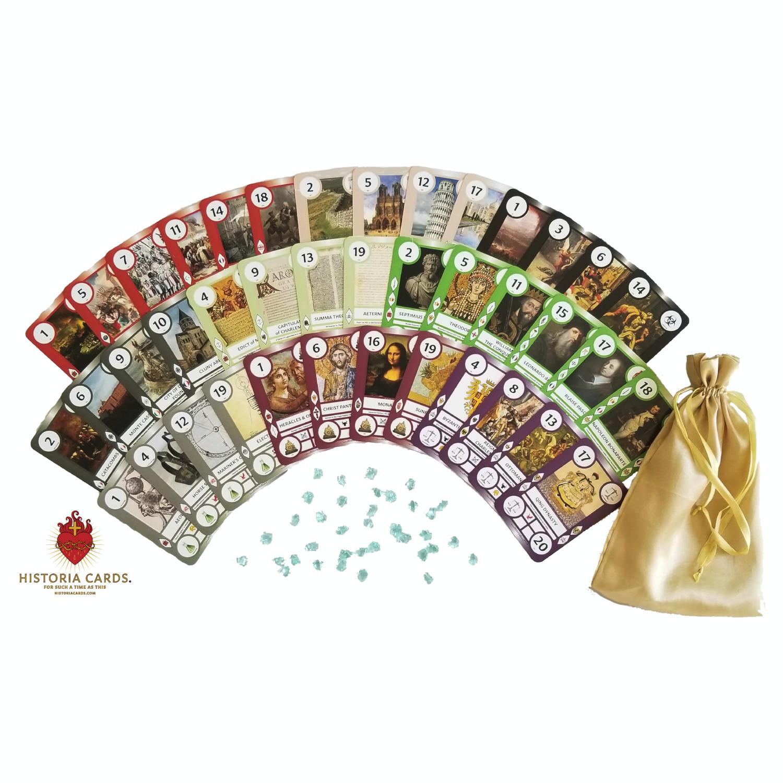 SaintCards: Historia Cards [Set 1]