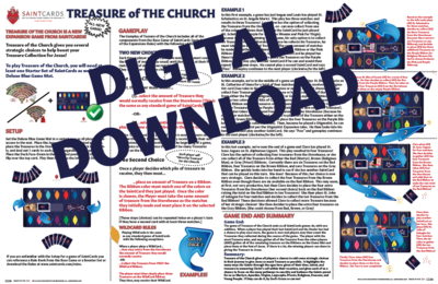 SaintCards: Treasure of the Church Expansion (Digital Download)