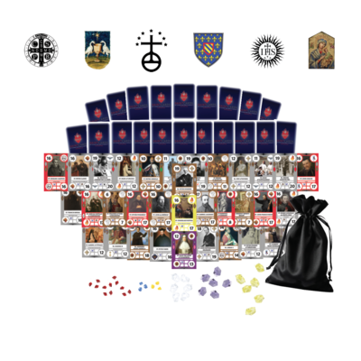 (Pre-order for Sept. 2020) SaintCards: The Monastic and Clerics Regular Expansion