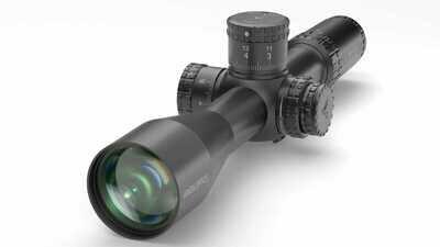 SH4 6-24X50 GEN2 FFP MIL VPR Illuminated Reticle with Zero Stop - 34mm Tube