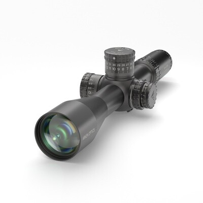 SH4 6-24X50 GEN2 FFP MOA VPR Illuminated Reticle with Zero Stop - 34mm Tube