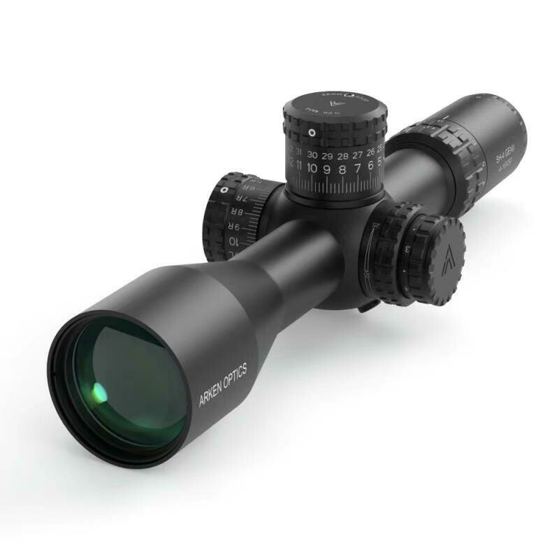 SH4 4-16X50 GEN2 FFP MOA VPR Illuminated Reticle with Zero Stop - 34mm Tube