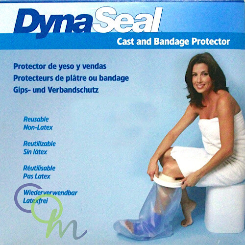 "DynaSeal Waterproof Cast and Bandage Protector - Adult Short Arm (22"")"