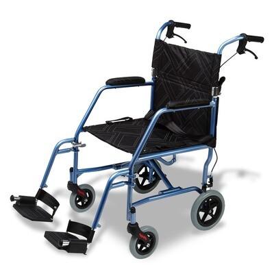 Omega LA1 Lightweight Foldable Wheelchair