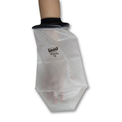 LimbO Waterproof Cast and Bandage Protector - Hand Injury