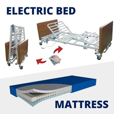 King Single Electric Bed + Mattress [Rental Per Week]