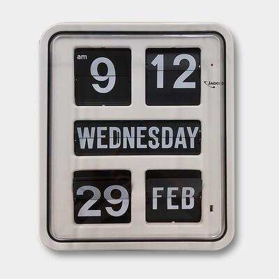 Day of the Week Calendar Clock