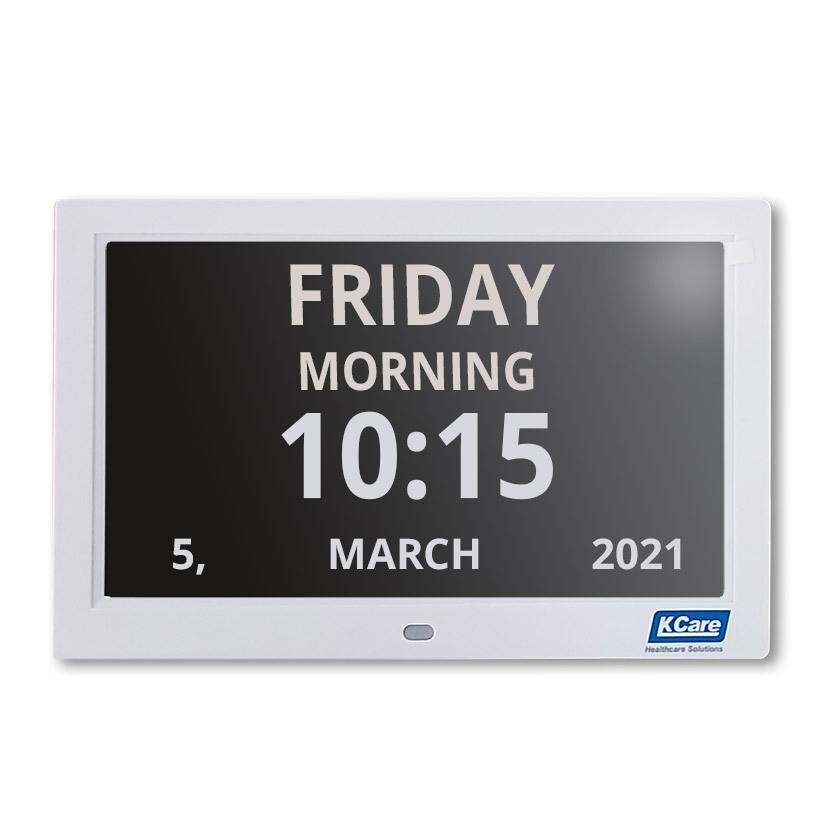 "12"" Digital LED Calendar Day Clock"