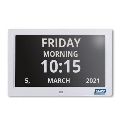 "10"" Digital LED Calendar Day Clock"
