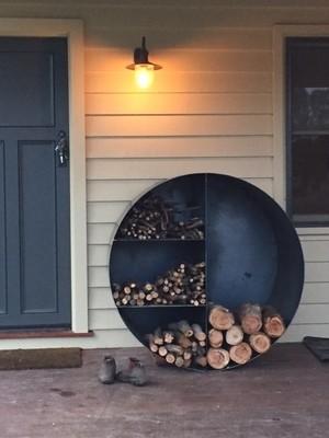 Round Wood Stacker