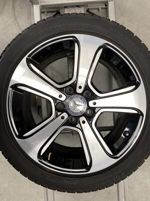 Mercedes B180 (slibemærker)