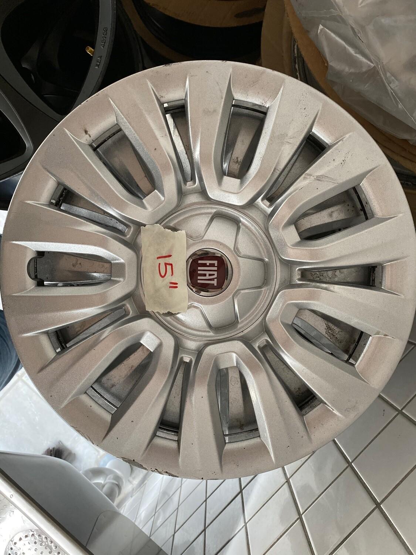 """Fiat Orig. hjulkapsel 4 stk 15"""""""