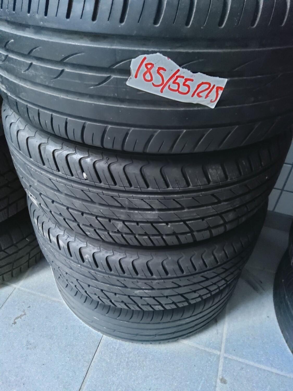 2 x Yokohama C.drive 2 185/55R15 82v.                                          2 x Tyfoon Successor 5 185/55 R 15 v