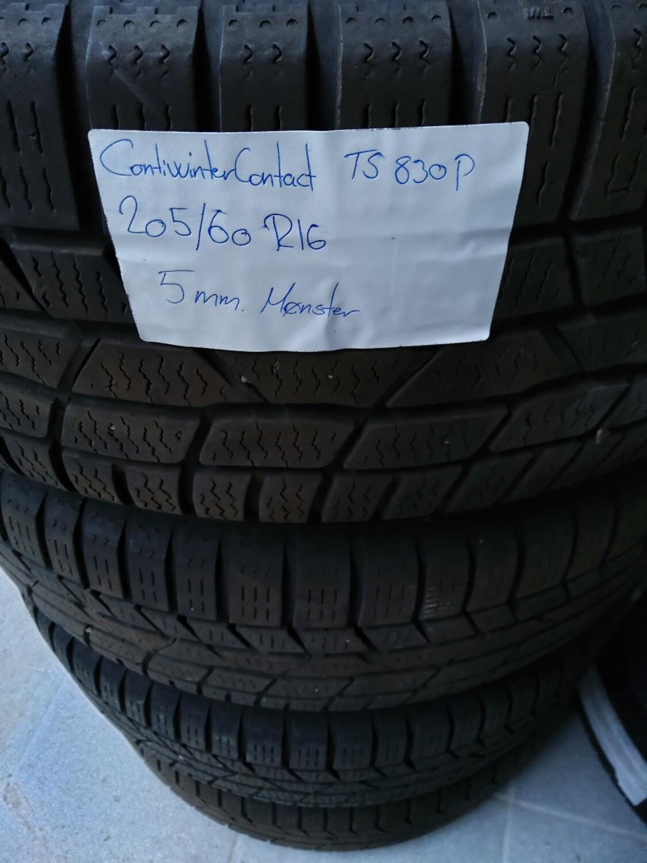 ContiWinterContact ts 830 p  205/60 R16