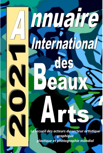 Insertion dans l'annuaire International des beaux-arts 2021