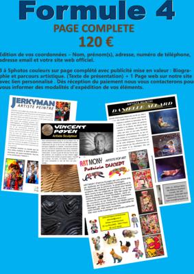 FORMULE N°4-       PAGE COMPLETE
