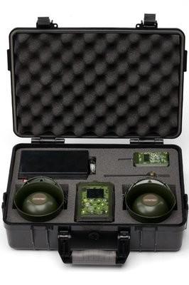 Hunting game caller Hunterhelp Pro 3, in shock resistant waterproof case