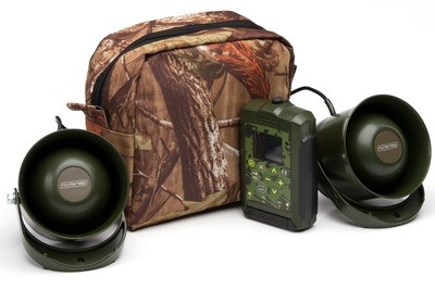 Hunting game caller Hunterhelp PRO 3, two broadband speakers Hunterhelp Alfa