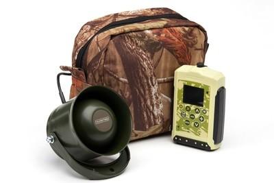 Hunting game caller Hunterhelp M3, broadband speaker Hunterhelp Alfa