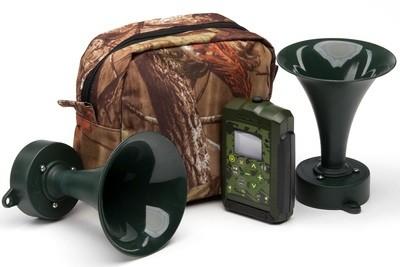 Hunting game caller Hunterhelp PRO 3, two speakers TK-9RU