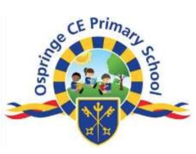 Ospringe C of E Primary, Faversham -  Autumn Term 2 2021 - Monday