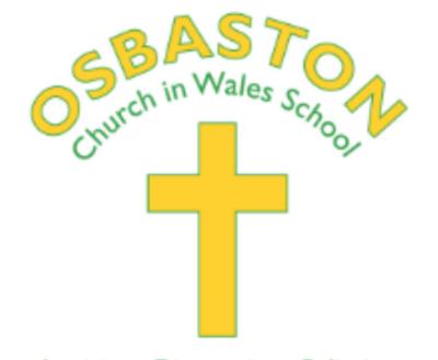 Osbaston CiW School, Monmouth - Autumn Term 2 2021 - Monday