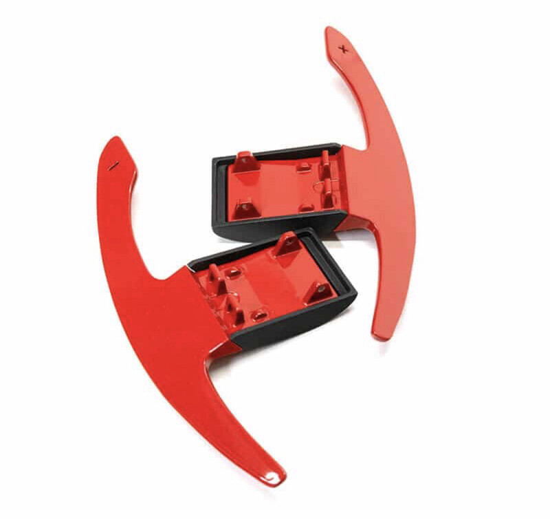 Paddleshifters Red Aluminium