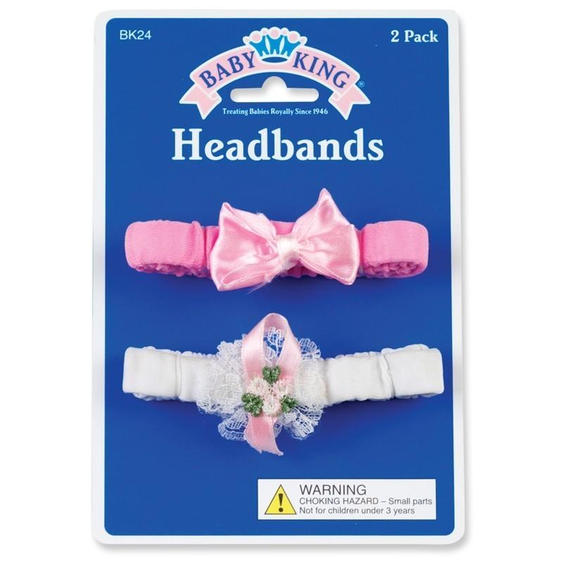 Set of 2 Baby Headbands