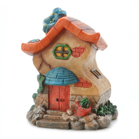 Garden Minis - Resin - Large Fairy House - 4.75 x 6 inches