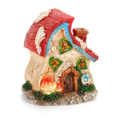Garden Minis - Fairy House - Resin - 3.9 x 3.4 inches