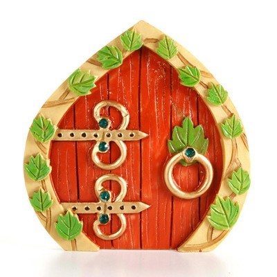 Garden Minis - Fairy Door - Resin - 3.75 x 3.875 inches