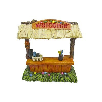 Mini Fairy Garden Tikki Bar Figurine