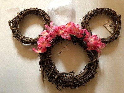 Grapevine Mouse Wreath Kit 2 sizes