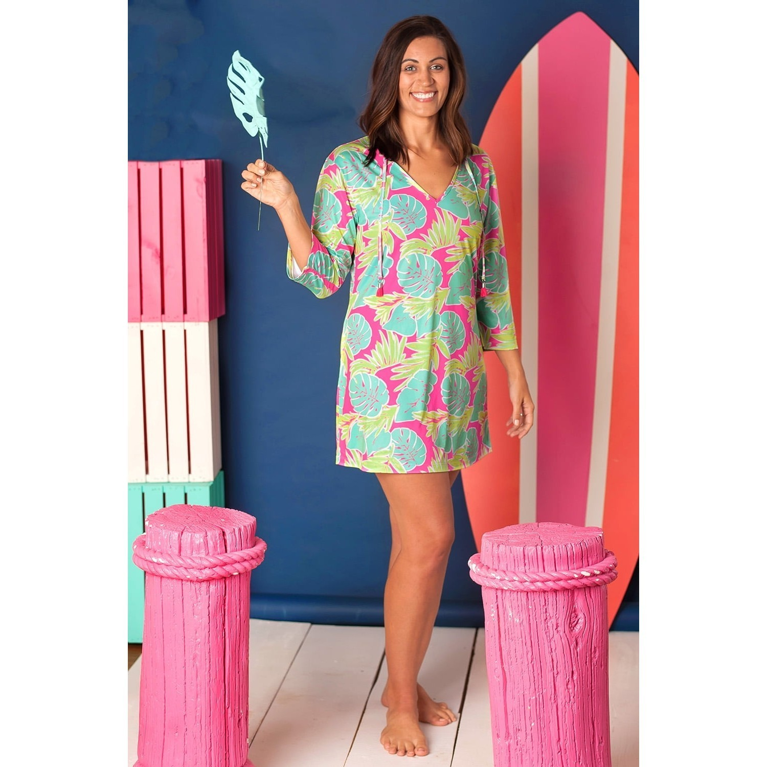 Totally Tropics Womens' Tunic
