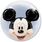 22 inch DOUBLE BUBBLES Disney Mickey Mouse (PKG), Price Per EACH
