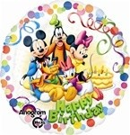 18 inch Mickey & Friends Birthday Party, Price Per EACH