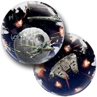 24 inch Star Wars Death Star Double Bubble