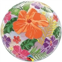22 inch BUBBLES Tropical Hibiscus Garden