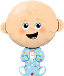38in Baby Boy (PKG), Price Per EACH