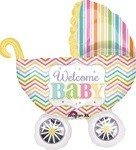31 inch Welcome Baby Carriage (PKG), Price Per EACH
