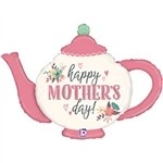 35 inch Mother's Day Vintage Teapot (PKG), Price Per EACH