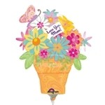 19 inch Happy Mother's Day Flower Pot (PKG), Price Per EACH