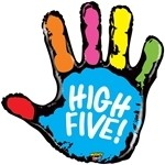 40 inch Mighty High Five (PKG), Price Per EACH