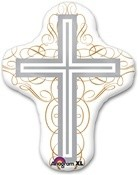 28 inch Elegant Cross (PKG), Price Per EACH