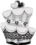 44 inch Fun and Fabulous Wedding Cake (PKG), Price Per EACH