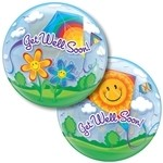22 inch BUBBLES Get Well Soon! Kites (PKG)