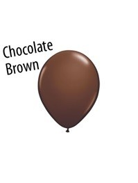 5 inch Qualatex CHOCOLATE BROWN, Price Per Bag of 25