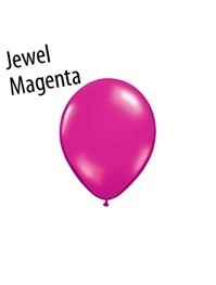 5 inch Qualatex Jewel MAGENTA, Price Per Bag of 25