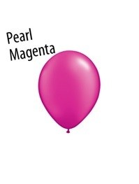 11 inch Qualatex PEARL MAGENTA, Price Per Bag of 25